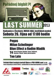 Plakát Last Summer 2013