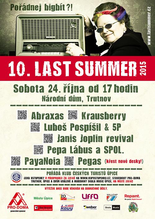 plakát Last SUmmer 2015